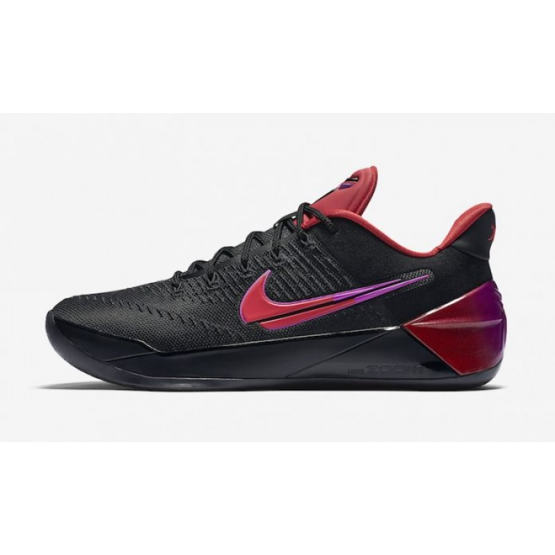 "Nike Kobe A.D. ""Flip the Switch"" Black/University Red-Hyper Violet 852425-004"