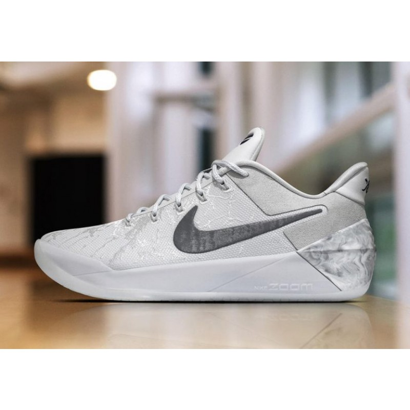 "Nike Kobe AD ""DeRozan PE"" Light Bone/White/Pale Grey-Vivid Sky 942301-900"