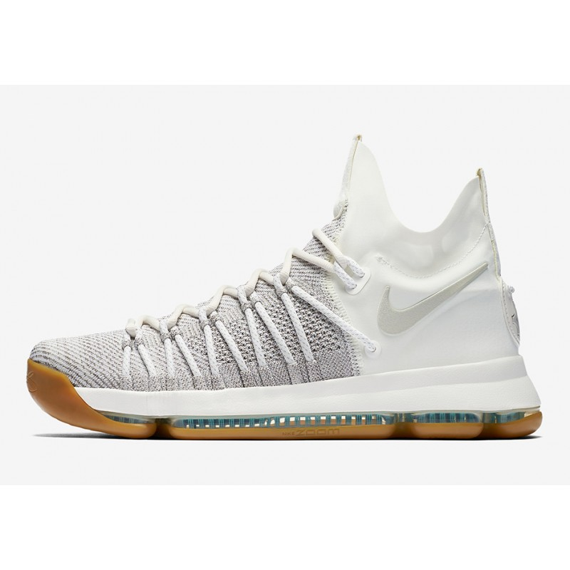 "Reliable Nike KD 9 Elite ""Summer Pack"" Ivory/Pale Grey/Sail-Gum 878637-001"