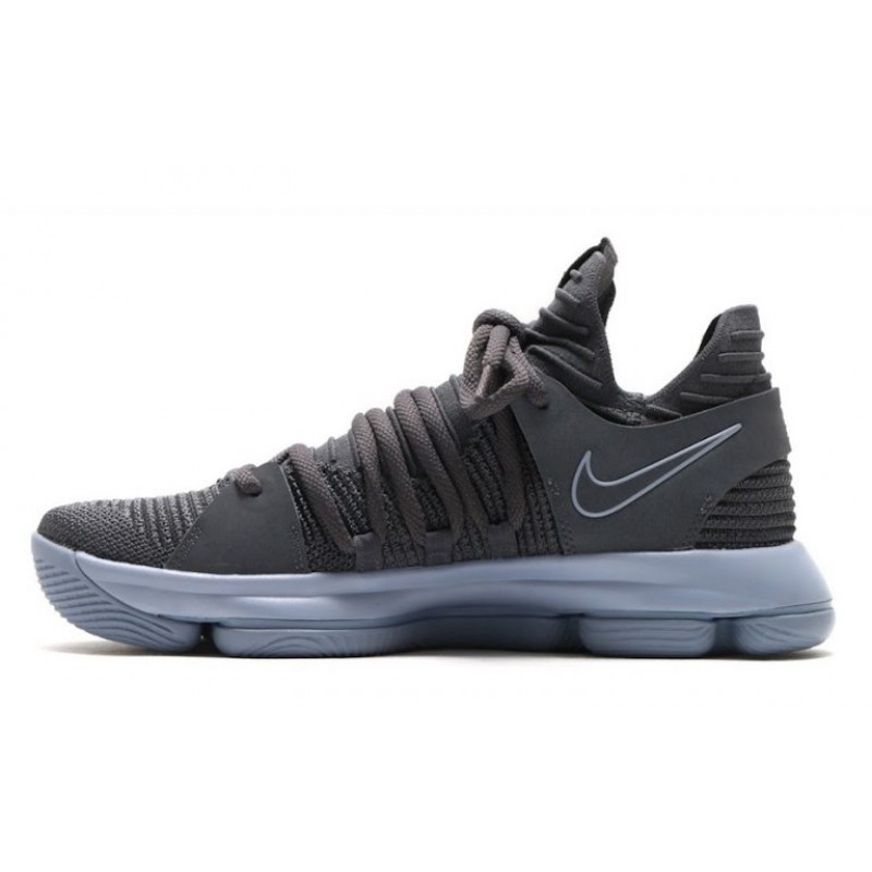 High-quality Nike KD 10 Dark Grey/Reflective Silver 897815-005