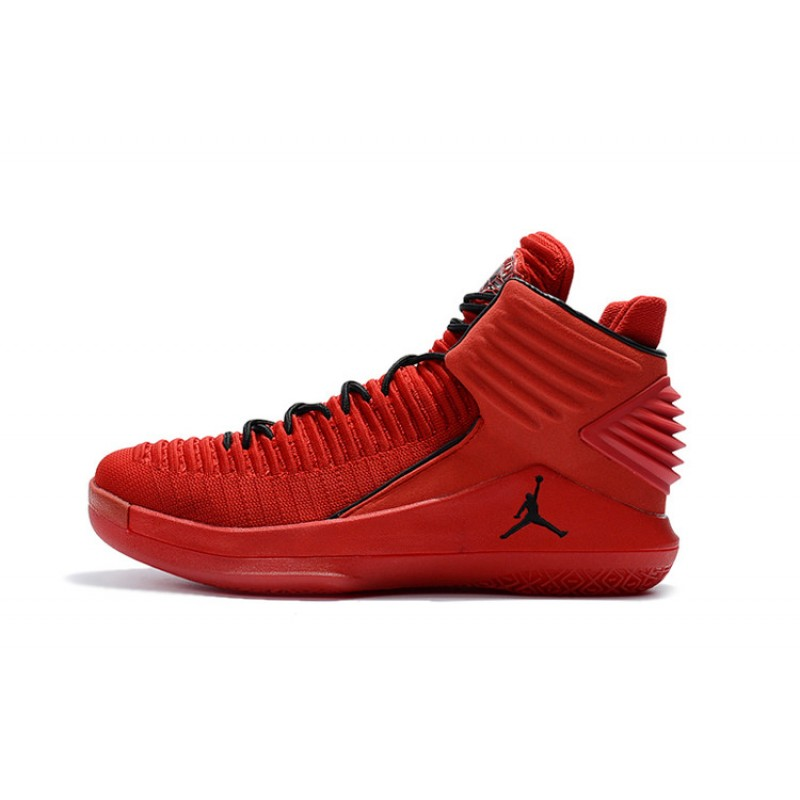 "Valentines Day Reliable Air Jordan 32 ""Rosso Corsa"" Gym Red/Black AA1253-601"
