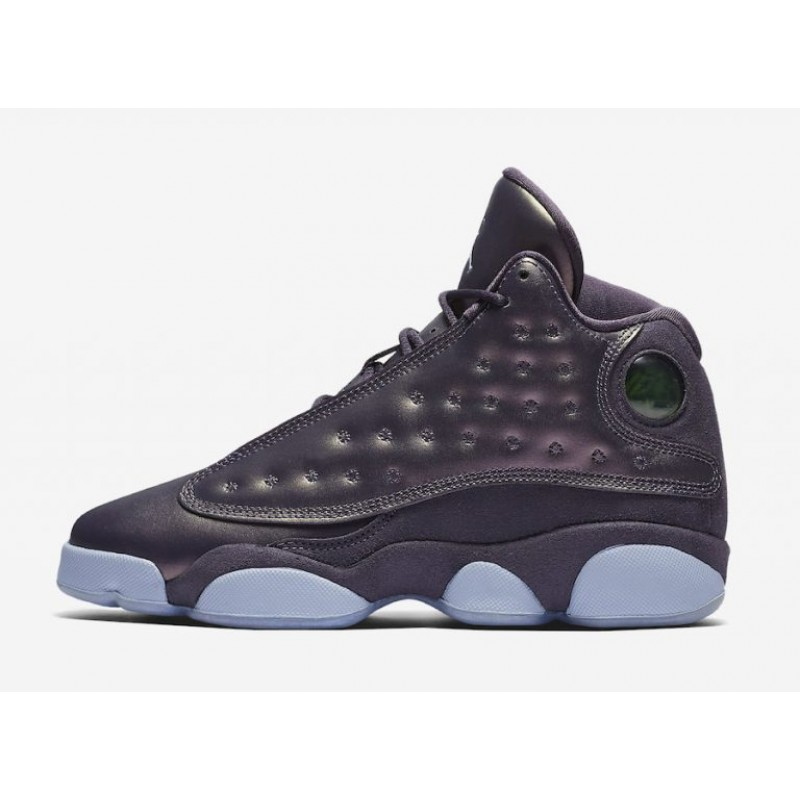 Air Jordan 13 PRM HC GS Dark Raisin/Hydrogen Blue-Hydrogen Blue AA1236-520