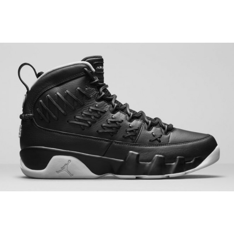 "Air Jordan 9 Pinnacle ""Baseball"" Pack Black/Metallic Gold-White 897560-003"