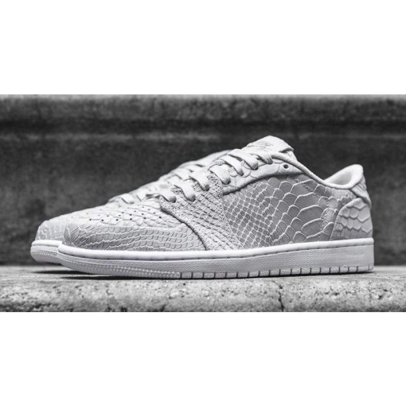 Reliable Air Jordan 1 Low Swooshless Off-White/White 872782-111
