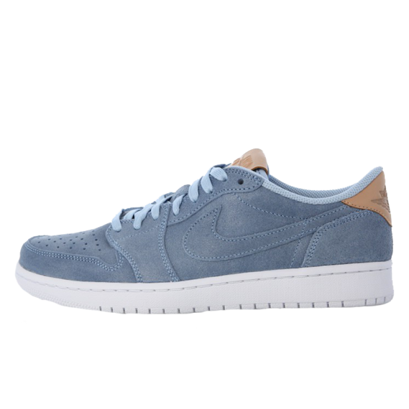 Air Jordan 1 Low Blue Vachetta Tan 905136-402