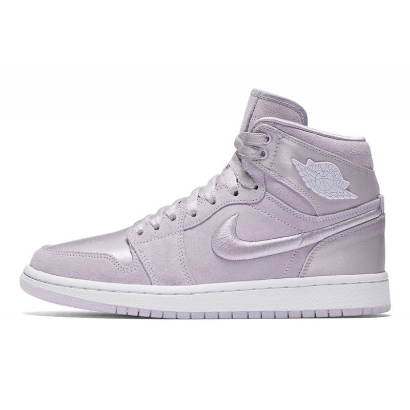 "Air Jordan 1 ""Summer of High"" Barely Grape/White-Metallic Gold AO1847-545"