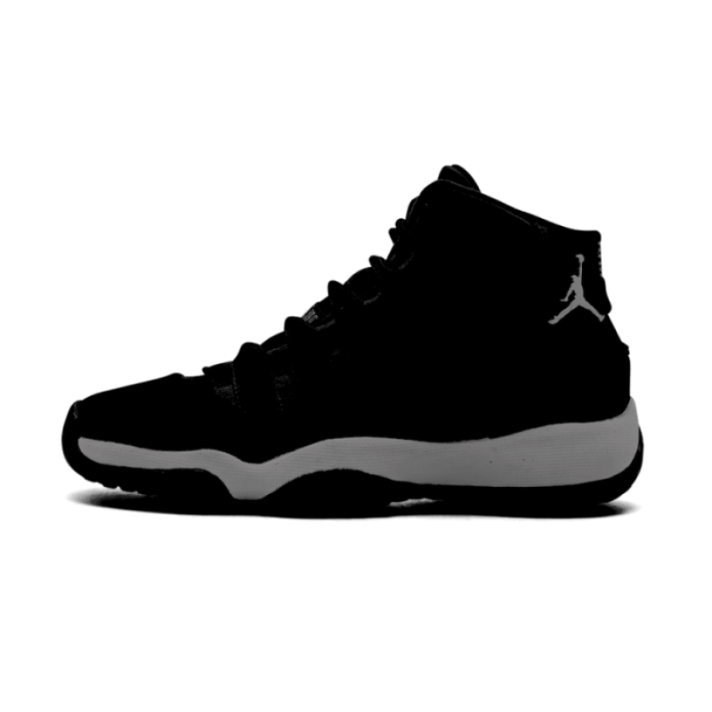 "Air Jordan 11 GS ""Dark Grey"" Dark Grey/White-Pure Platinum-Chrome 852625-020"