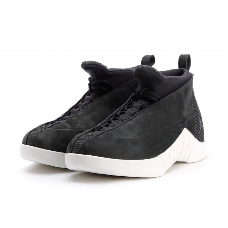 "Air Jordan 15 ""PSNY"" Black/Sail 921194-011"