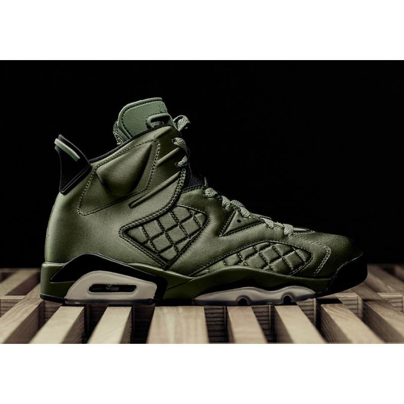 "Air Jordan 6 Pinnacle ""Saturday Night Live"" Palm Green/Palm Green-Black AH4614-303"