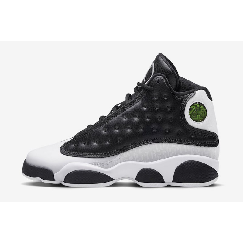 "Air Jordan 13 GS ""Love & Respect"" Pack Black 888165-012"