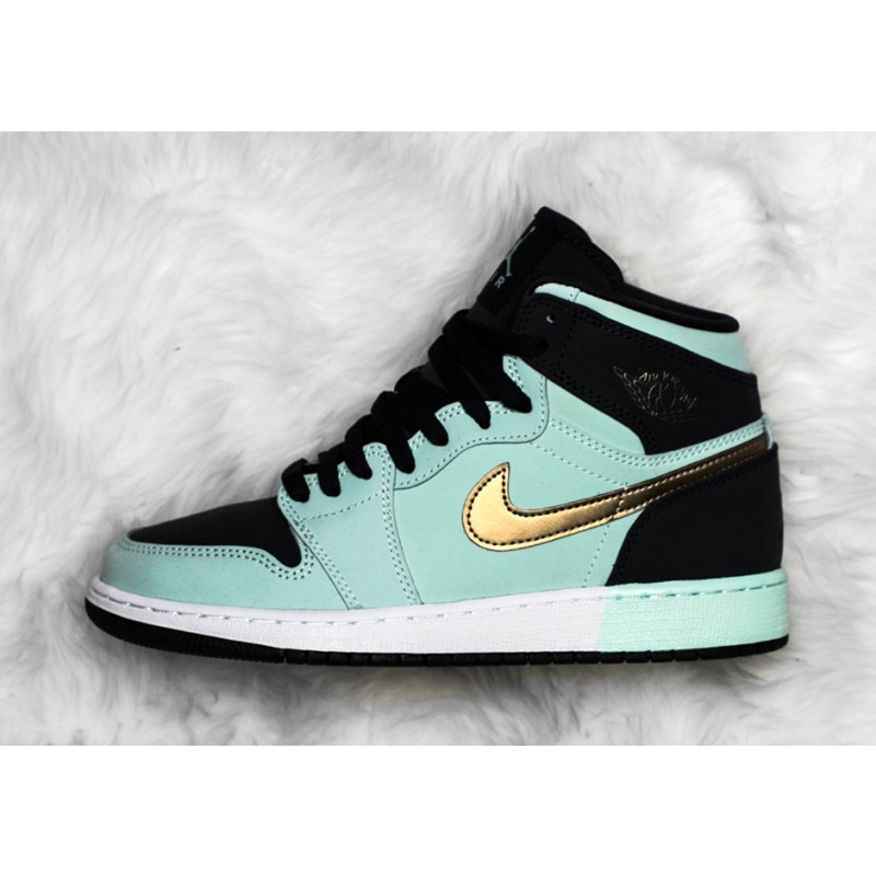 "Air Jordan 1 GG ""MINT FOAM"" Blue 332148-300 Cyber Monday"
