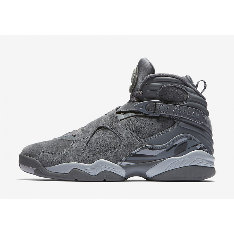 "Air Jordan 8 ""Cool Grey"" Grey 305381-014 Cyber Monday"