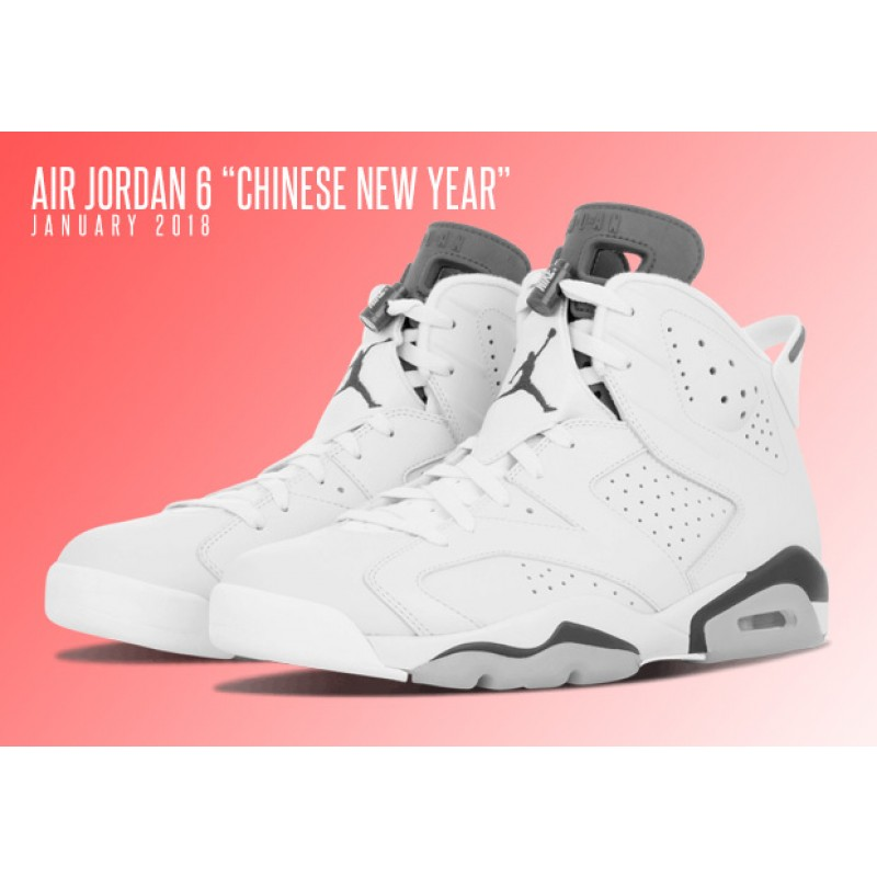"Air Jordan 6 Retro ""CHINESE NEW YEAR"" Black AA2492-021"