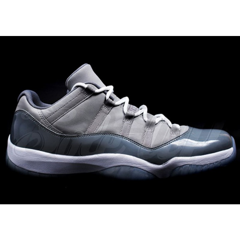"Air Jordan 11 Low ""Cool Grey"" Grey 528895-003 Black Friday"