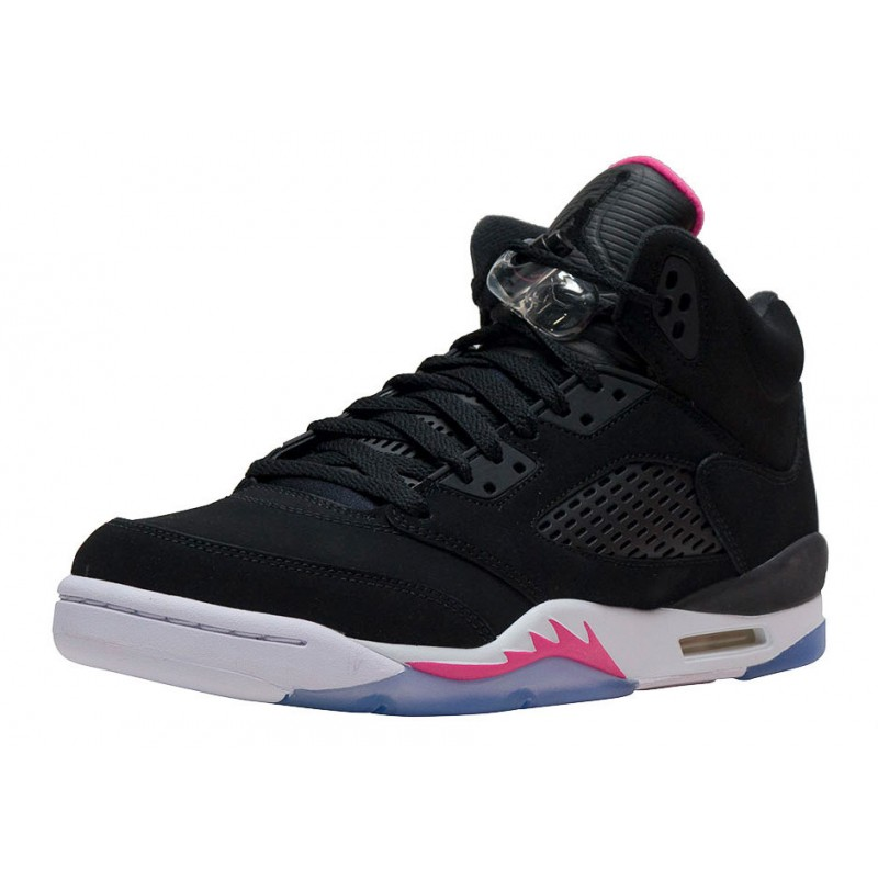 "Air Jordan 5 GG ""DEADLY Pink"" Black 440892-029 Cyber Monday"