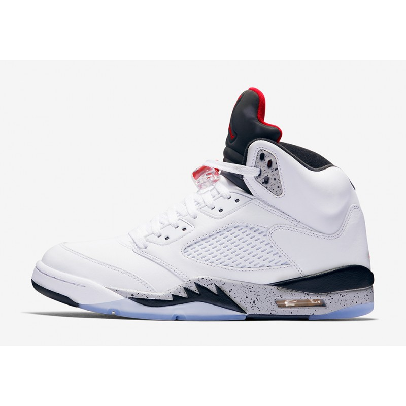 "Air Jordan 5 ""White/Cement"" White 136027-104 Black Friday"