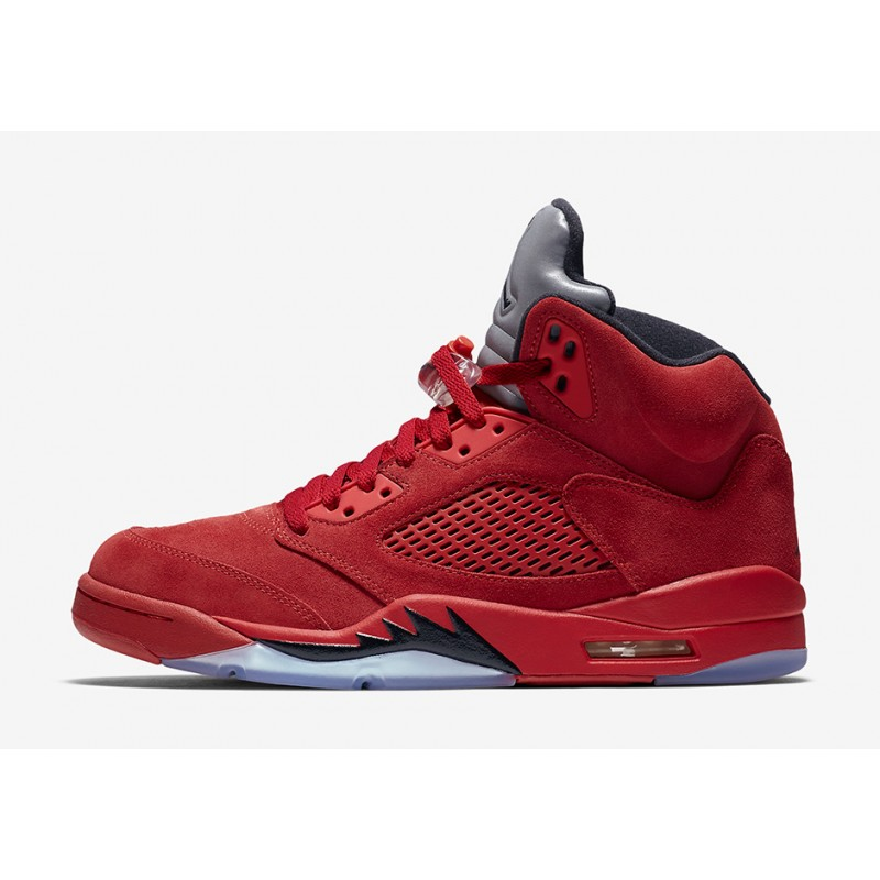 "Air Jordan 5 ""FLIGHT SUIT"" Red 136027-602 Cyber Monday"