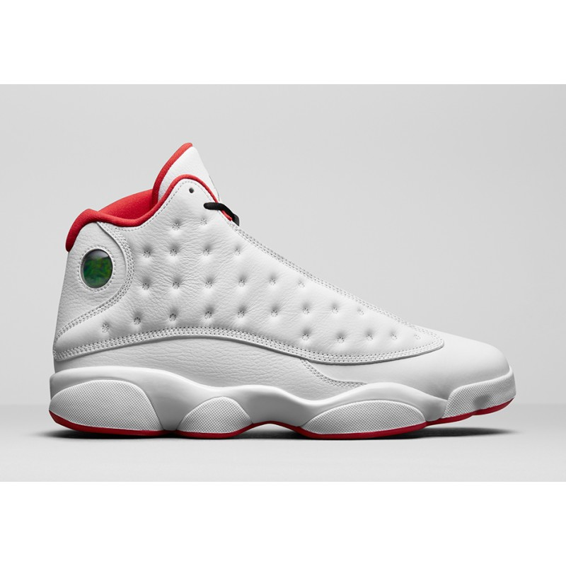 "Air Jordan 13 ""HISTORY OF FLIGHT"" White 414571-103Black Friday"