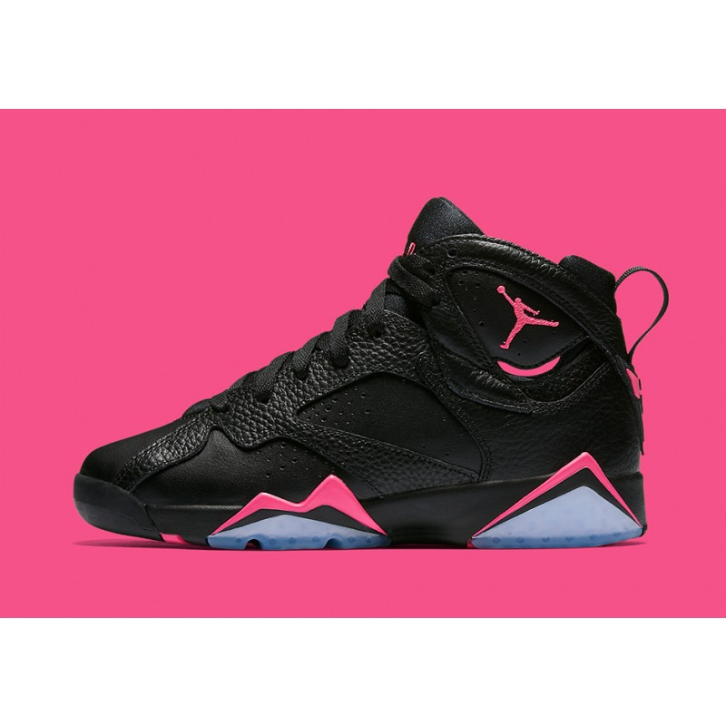 "Air Jordan 7 GG ""Hyper Pink"" Black 442960-018 Cyber Monday"