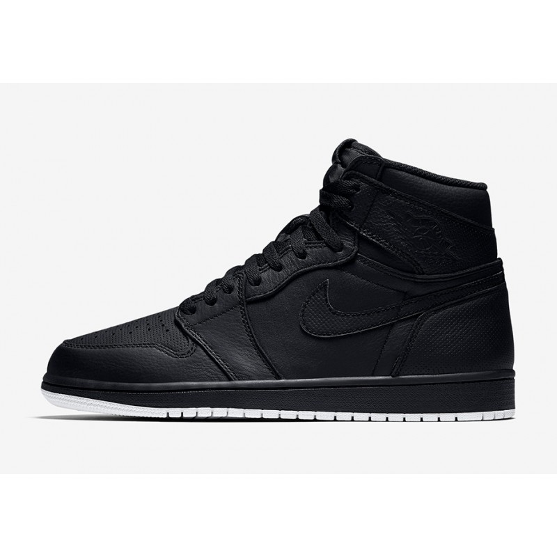 "Air Jordan 1 ""PERFORATED PACK"" Black 555088-002 Cyber Monday"