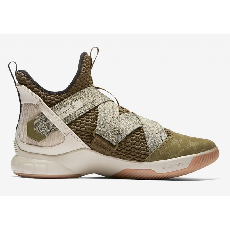 Cyber Monday Nike LeBron Soldier 12 (Green) AO2609-300