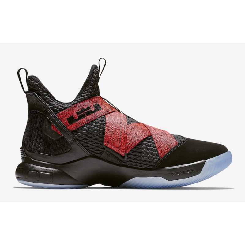 Black Friday Nike LeBron Soldier 12 (Black/Red) AO2609-003