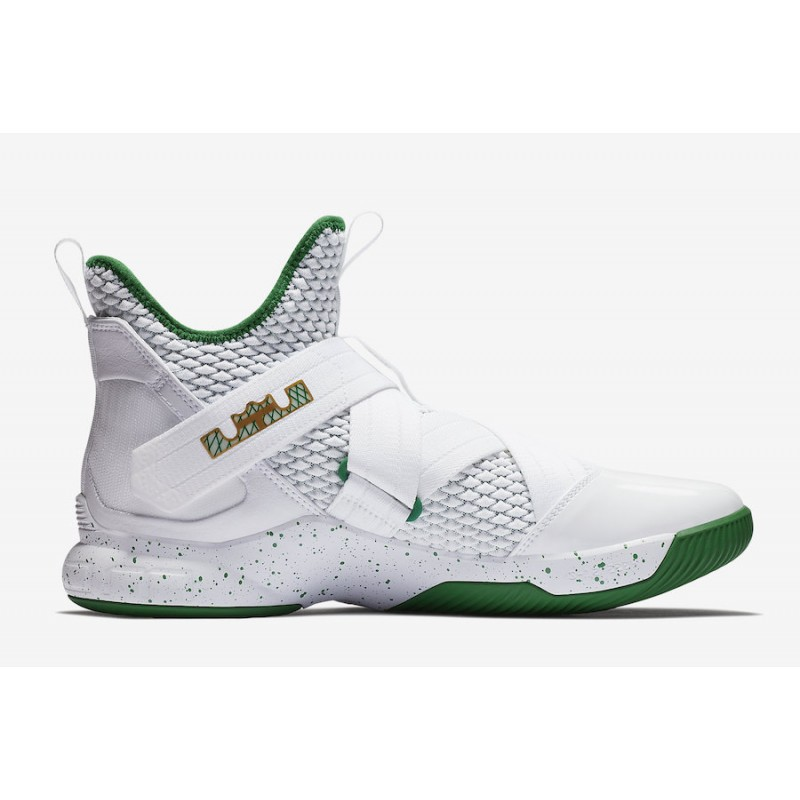 "Black Friday Nike LeBron Soldier 12 ""SVSM"" (White) AO2609-100"