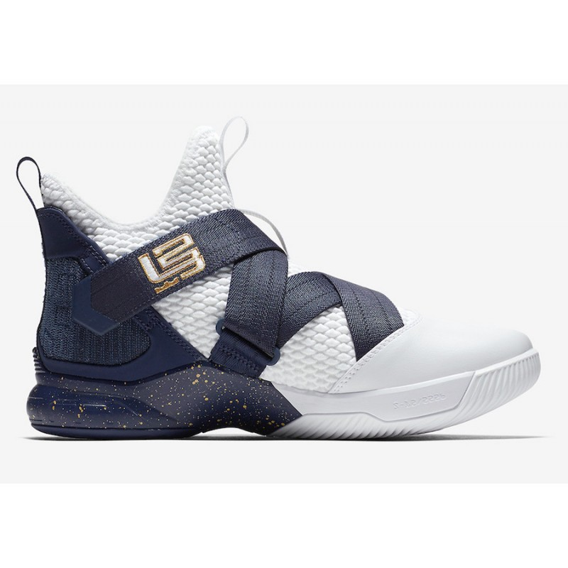 Black Friday Nike LeBron Soldier 12 (White) AO4054-100