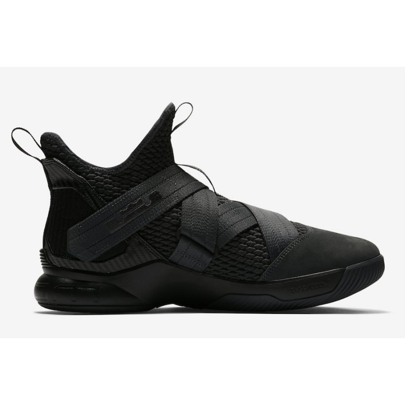 "Cyber Monday Nike LeBron Soldier 12 SFG ""Zero Dark Thirty"" (Black) AO4054-002"
