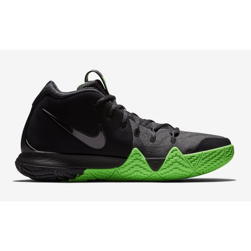 Black Friday Nike Kyrie 4 Shoes (Black/Green) 943806-012