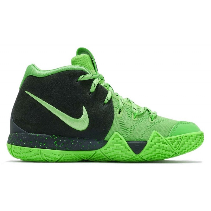 Cyber Monday Nike Kyrie 4 GS (Green/Black) AA2897-333