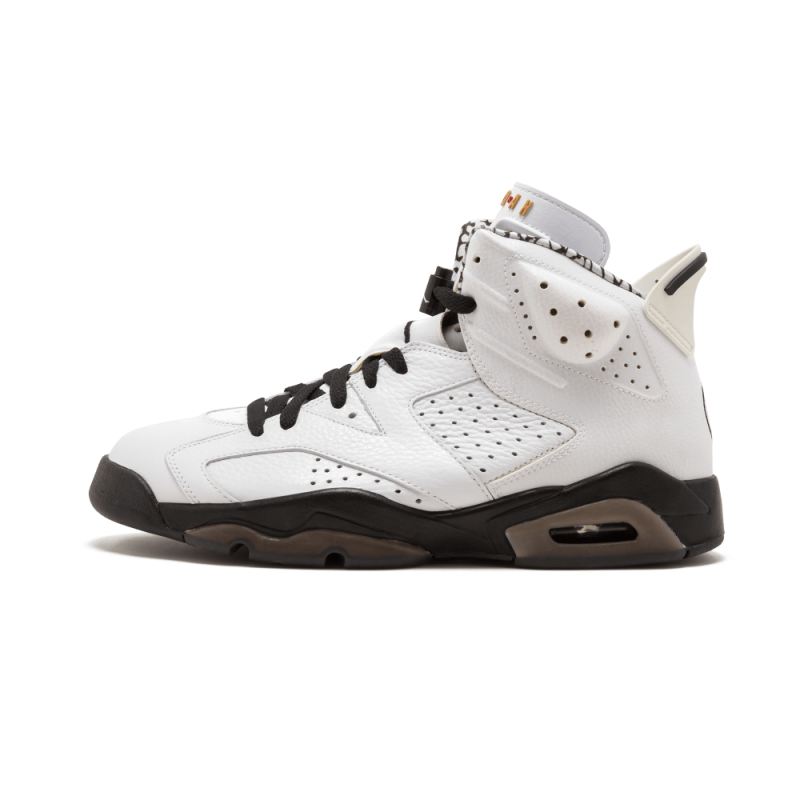 "Air Jordan 6 ""Motorsport"" White/Black - 395866-101"