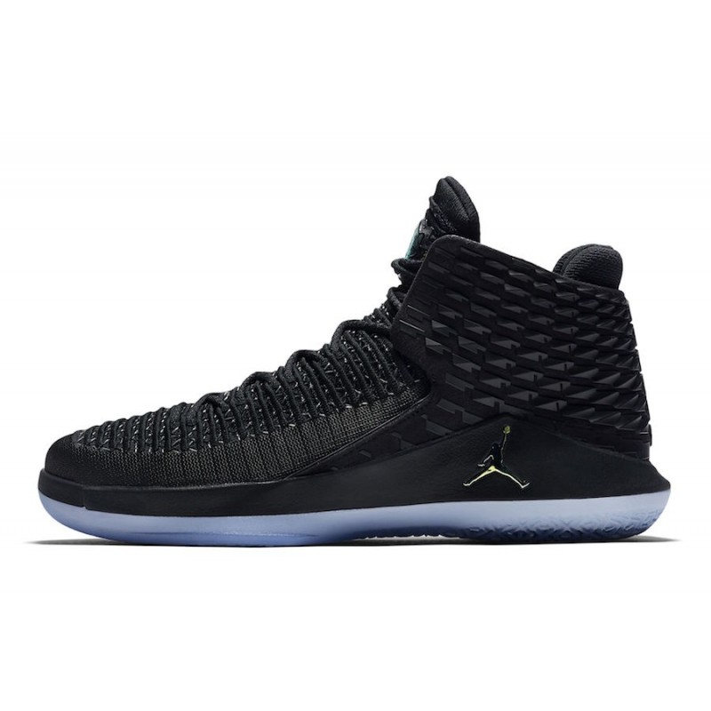 "Air Jordan 32 ""Black Cat"" Black/Multi-Color-Metallic Silver - AA1253-003"