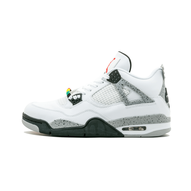 "Jordan 4 And Fly 89 Pack ""Bugging Out"" Cement/White 840606-192a"