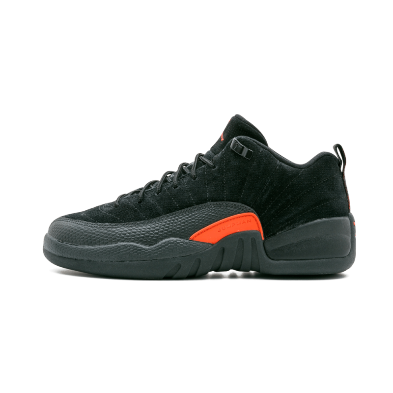 Air Jordan 12 Retro Low WMNS Black/Max Orange-Anthracite 308305-003
