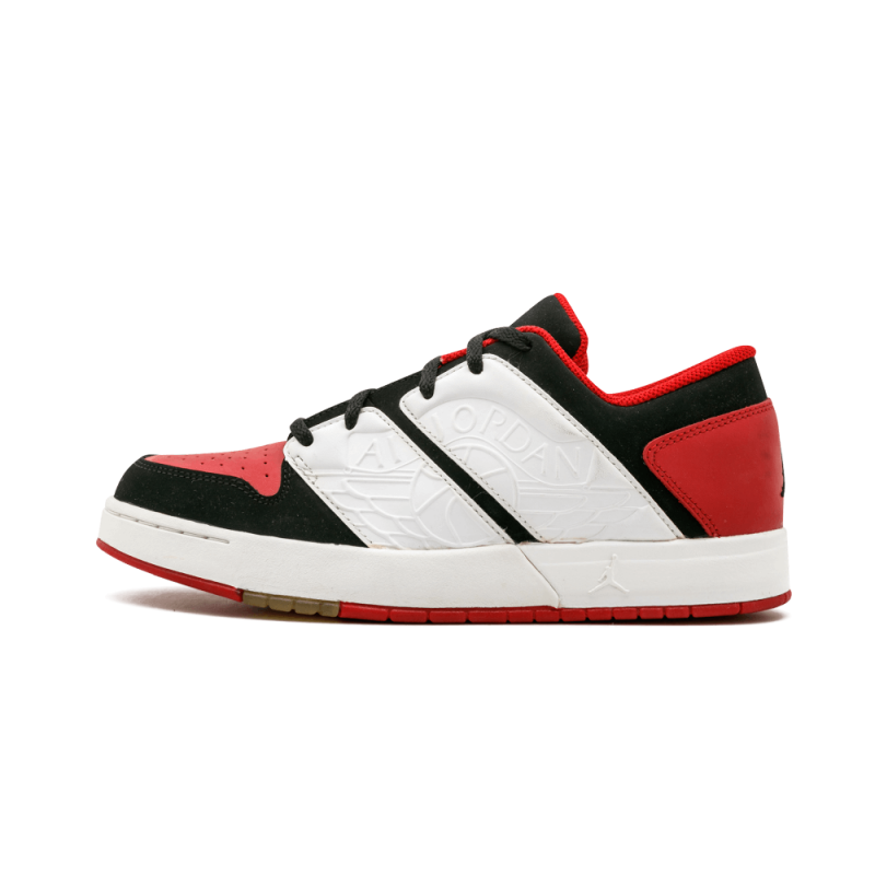 Jordan NU Retro 1 Low WMNS Black/White-Varsity Red 317164-011 Black Friday