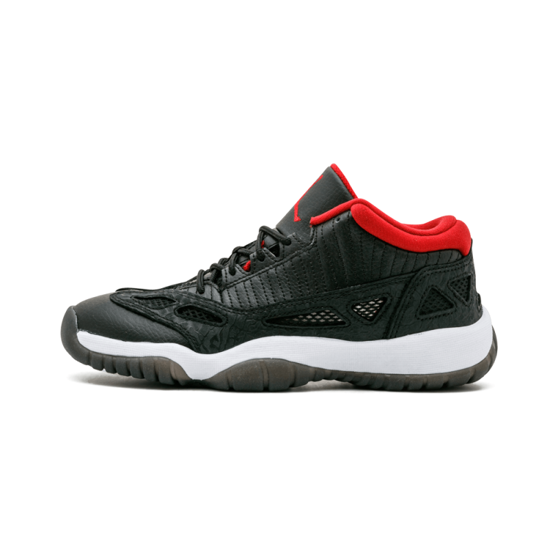 Air Jordan 11 Retro Low WMNS Black/Varsity Red-White 306006-001