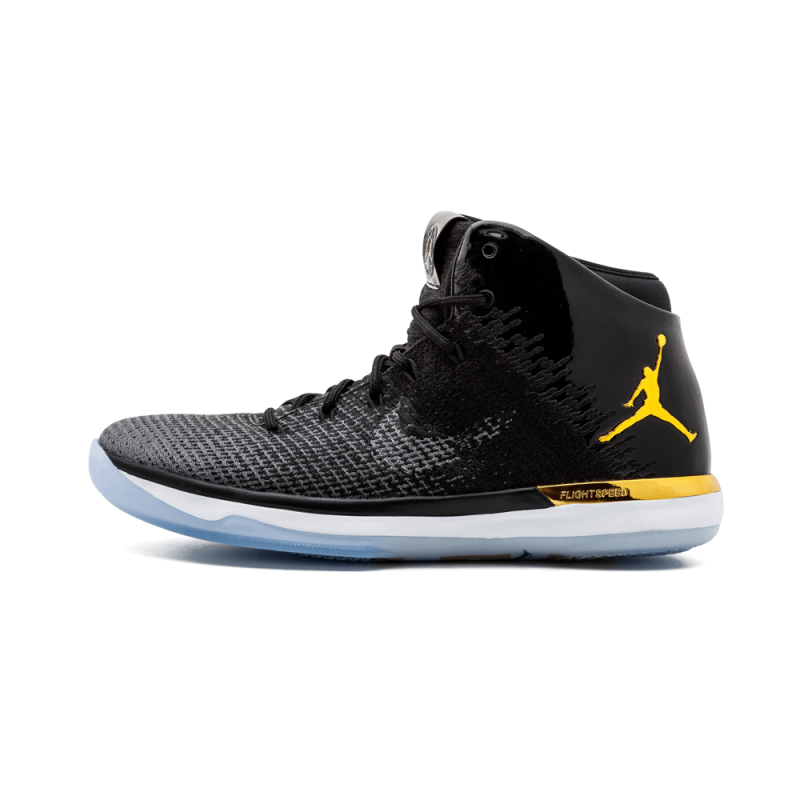 "Air Jordan 31 JBC ""Jordan Brand Classic"" Black/Metallic Gold-Dark Grey AA2564-070"