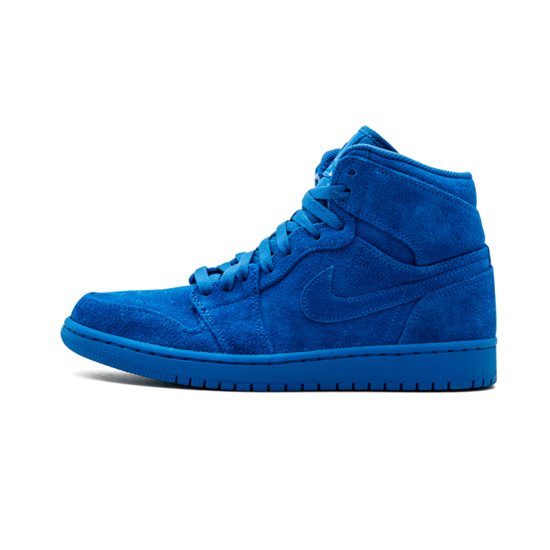"Air Jordan 1 Retro High ""Blue Suede"" Team Royal/Team Royal 332550-404"
