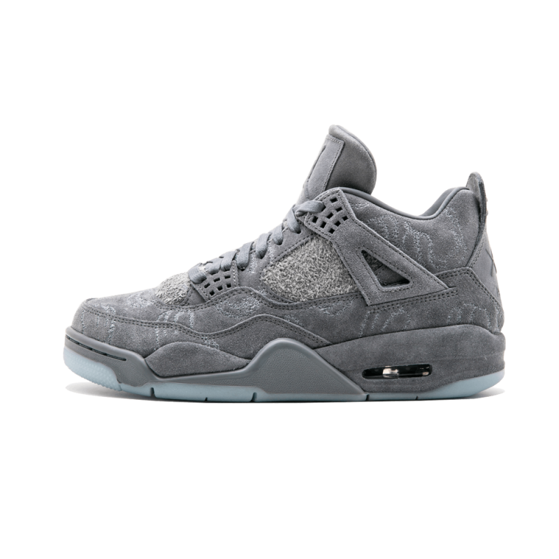 Air Jordan 4 Retro Kaws Cool Grey/White 930155-003 Cyber Monday