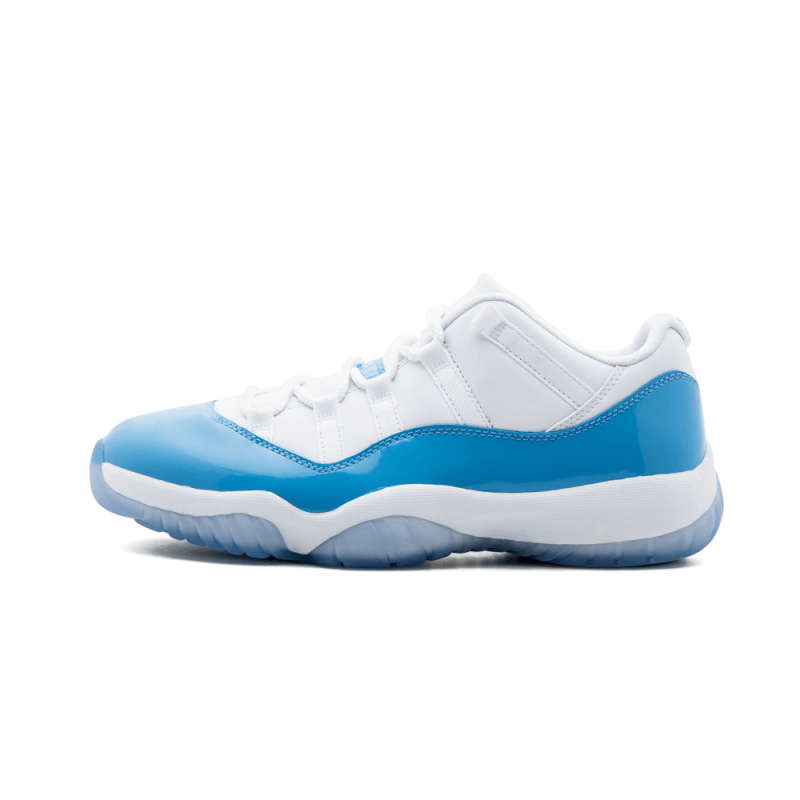 "Air Jordan 11 Retro Low ""UNC"" White/University Blue 528895-106"