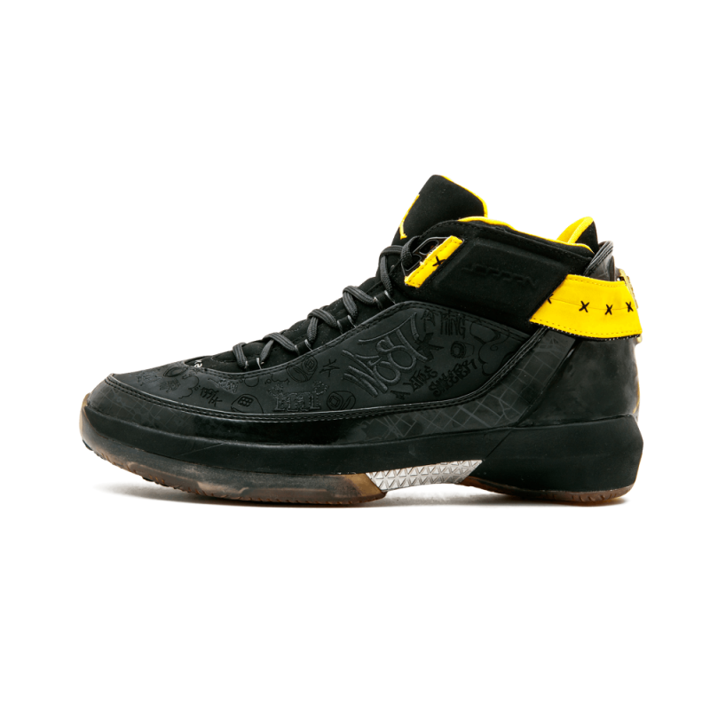 Air Jordan XX2 PE Black/Varsity Maize 317141-071 Cyber Monday