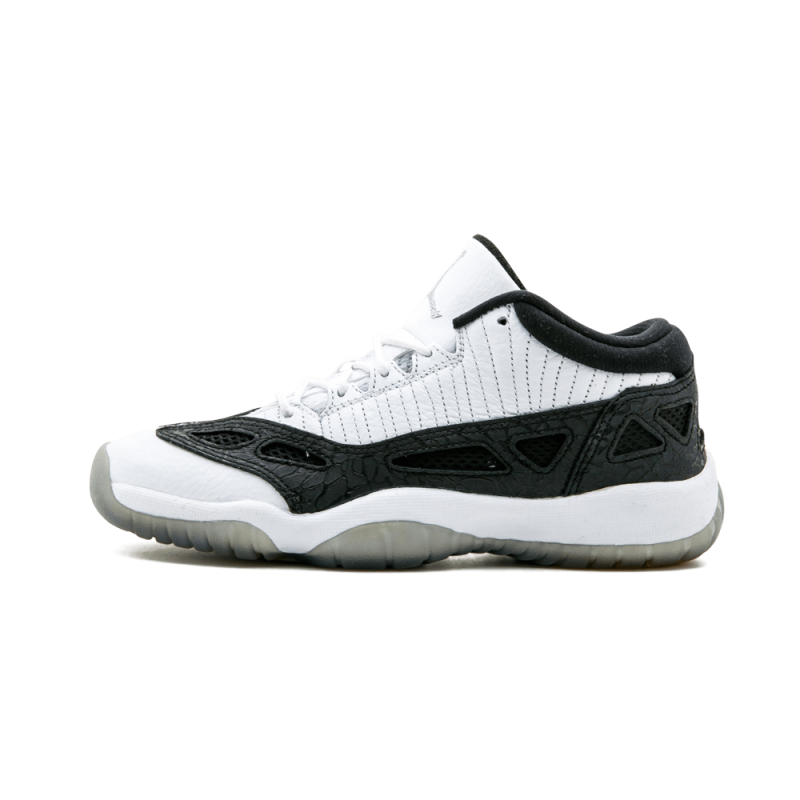 Air Jordan 11 Retro Low WMNS White/Metallic Silver-Black 306006-100