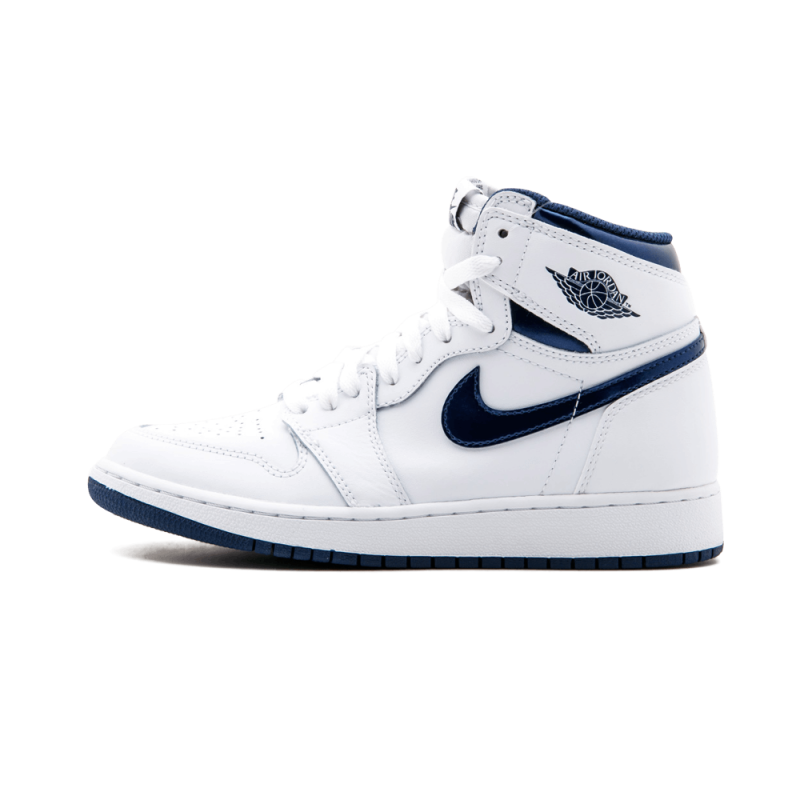 Air Jordan 1 High OG WMNS White/Navy 575441-106 Cyber Monday