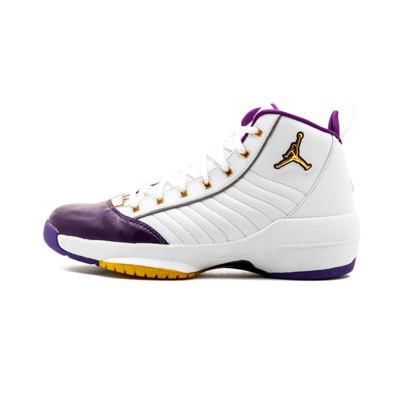 Air Jordan 19 SE White/Met Gold-Varsity Purple 308492-172 Cyber Monday