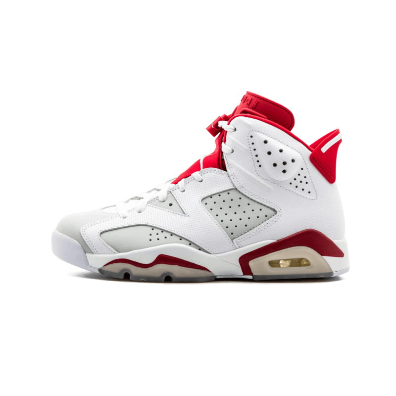 "Air Jordan 6 Retro ""Alternate"" White/Gym Red-Pure Platinum 384664-113 Black Friday"