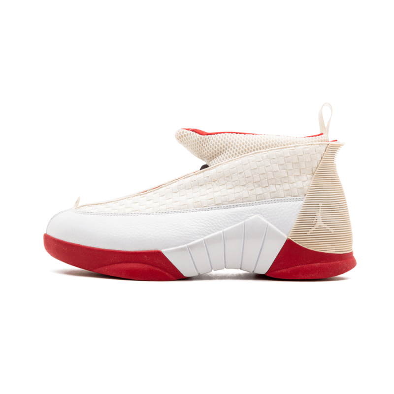 "Air Jordan 15 ""History of Flight"" White/Red 159294-495 Black Friday"