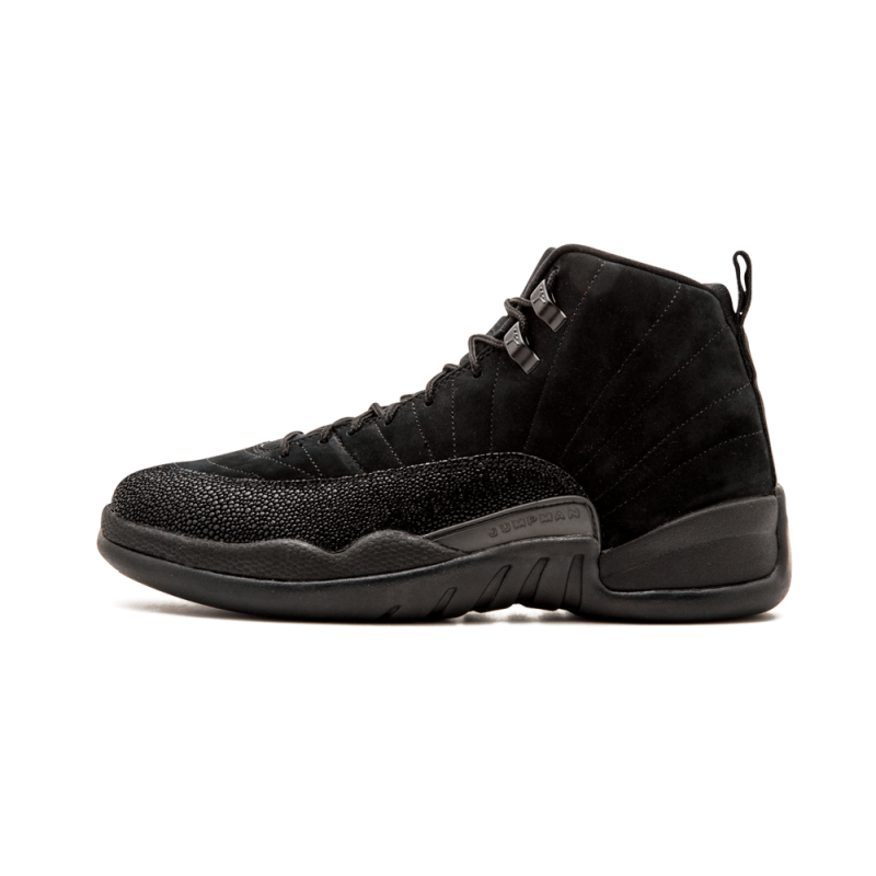 Air Jordan 12 Retro OVO Black/Black-Metallic Gold 873864-032