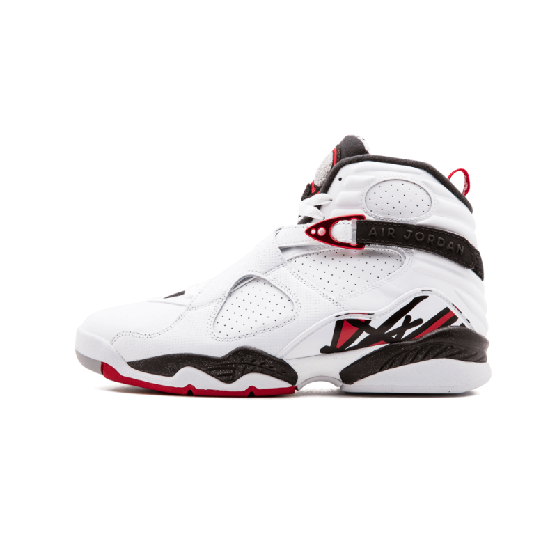 "Air Jordan 8 Retro ""Alternate"" White/Gym Red-Black-Wolf Grey 305381-104"