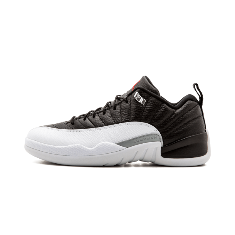 "Air Jordan 12 Retro Low ""Playoff"" Black/Varsity Red-White 308317-004"